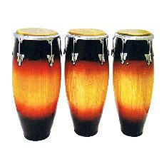 Hi Brillo / Vintagesunburs Conga Drums (COC100SB)