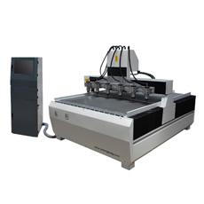 1615-1-6 Fuso de múltiplos, madeira, acrílico, plástico, alumínio, cobre, máquina de esculpir Router CNC