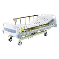 Cama Hospitalar Three-Fuction durável Electric Medical Bed
