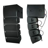 Active mini ligne système de son d'intérieur de 8 pouces d'exposition de rangée