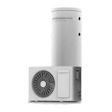 Calentador de agua de la bomba de calor de la fuente de aire del uso casero para el hogar