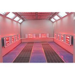 Sistema de Aquecimento Infravermelho Ambiental Sala de Pintura para Autocarro