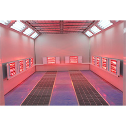 Système de Chauffage à Infrarouge de l'Environnement Salle de Peinture pour l'Auto/Voiture