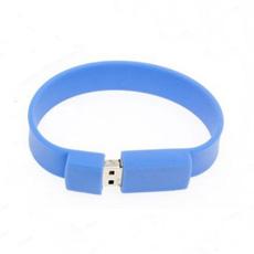 Unidad USB de Pulsera Flash USB Capacidad Personalizada