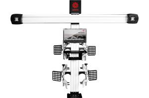 Alineación de ruedas de coche en 3D/máquina alineador de ruedas