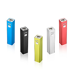 Зарядное устройство для аккумулятора мобильного телефона 3300Мач встроенный кабель питания банка