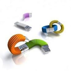 Pulsera de caucho de silicona USB Flash Drive USB 2.0