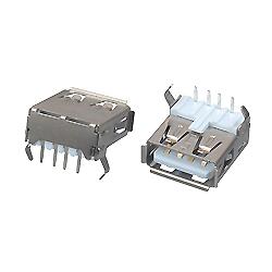 Conector Micro USB/USB 5p Plug Micro con 3 Partes