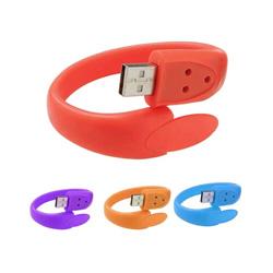 USB Pendrive de la pulsera del palillo de la memoria del USB del Wristband del USB 2.0