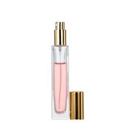 Couvercle en Aluminium Rechargeables D'atomiseur de Verre Bouteille de Parfum de Pulvérisation de la Pompe