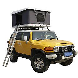 Coche SUV Hard Shell de fibra de vidrio de la azotea de carpa de Camping Trailer