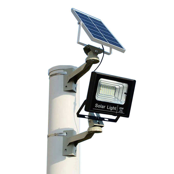 Luz Exterior Solar 48 LEDs Radar Sensor de movimento de microondas do jardim de segurança sem fio da luz de parede
