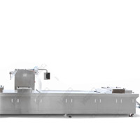 Sea Food thermoformage sous vide automatique machine de conditionnement de la peau (VSP)