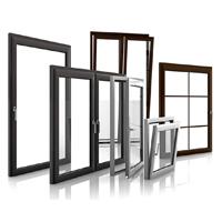 Customized Design especial de alumínio / portas de alumínio e Windows