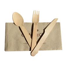 Одноразовые деревянная посуда одноразовые столовые приборы