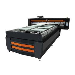 Populares Aprovado pela CE A1 900*600mm de tamanho para qualquer material rígido, Impressão Digital Impressora plana UV