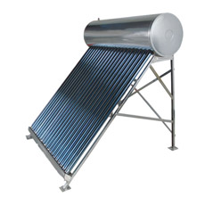 Compacto calentador de agua solar de tubos de vacío a baja presión
