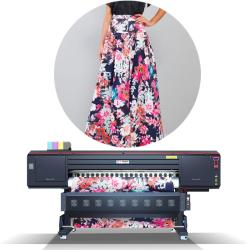 Máquina de impressão flexível Digital Eco-Solvent com a Epson Dx10 Cabeçotes de impressão