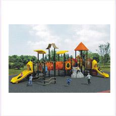 Cour de jeu extérieure de jolis de conception enfants de jardin d'enfants