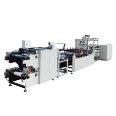 Rfld-600 Entièrement automatique pochette Médical de stérilisation et le rabatteur Making Machine