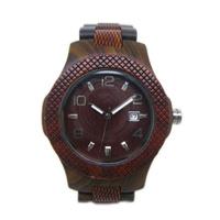 Madera Top-Quality Ver reloj de cuarzo HL28