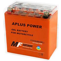 Manutenção de Ácido de Chumbo Selado Gel Recarregável Motociclo Baterias de Armazenamento