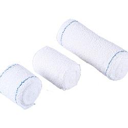 Crêpe de coton bandages avec PE Package