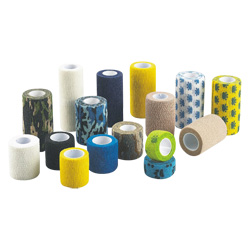 Bandage élastique autoadhésives en coton de haute qualité