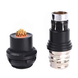 2 Pin Hembra para Montaje en Panel Conector Circular Dbpu DBP