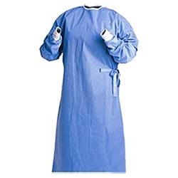 Vestidos médicos descartáveis esterilizados não tecidos