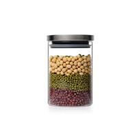 Стеклянный кувшин блендера упаковки продуктов питания герметичной стеклянной крышки кувшина блендера Seasalt расположен стекло ресивера