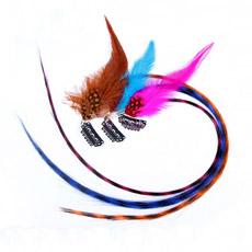 Comercio al por mayor de plumas Real Hair Extension