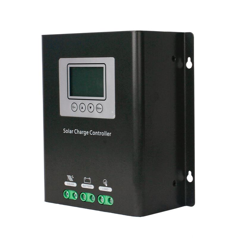 20A/30d'un contrôleur de charge solaire MPPT LCD