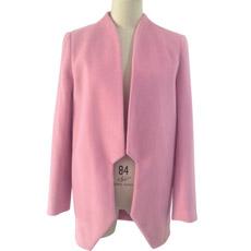 Женская куртка моды в розовый мех