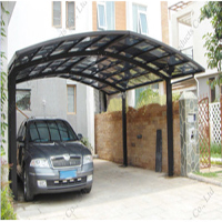 Durable Canapé de tente de parking en aluminium (B800)