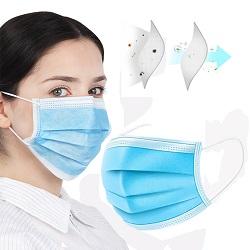 3 folhas de alta qualidade FDA 510K Medical máscara cirúrgica