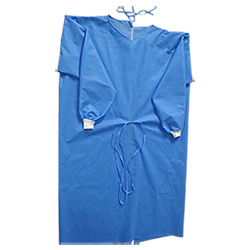 Robe médicale jetable / robe chirurgicale / robe d'islation