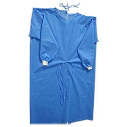 Vestido médico descartável / Vestido cirúrgico / Islation Gown