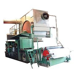Los pequeños rollos de papel higiénico maquinaria, los desechos de papel reciclado (1.575 mm)
