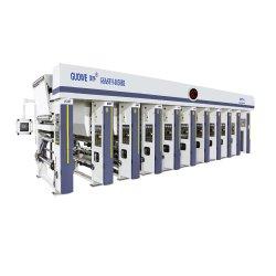 Máquina de impressão por rotogravura de alta velocidade