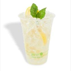 Hot Sale BPA Free Snack Cup com palha
