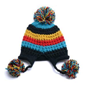 Новые моды зимой красивые акриловые Red Hat для девочек