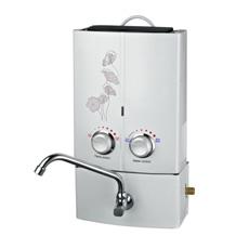 calentador de agua al aire libre inmediato portable del gas 6L Sgh-55s