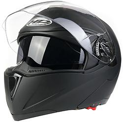 Aprovação da ECE Flip-up Visor Duplo de Estilo do Capacete de Motocicleta (AH009)
