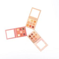 10 Eyeshadow cor paleta de maquiagem com luminoso e Matte Eye Makeup Es0318
