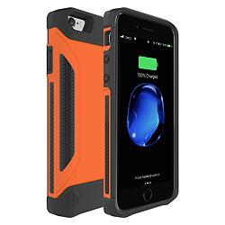 El Shock anti golpes contra el atardecer la prueba de caja de batería para iPhone
