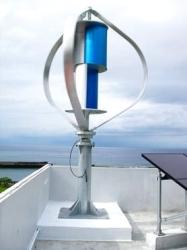 Turbina de vento horizontal do competidor da linha central 400W, gerador de vento, moinho de vento