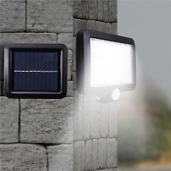 Luz LED OVNI Luz Solar de la Pared Exterior