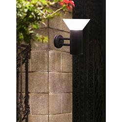 Lúmenes LED de Alta Pared de Luz Solar al Aire Libre con Batería de Litio