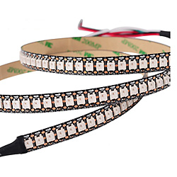 Ws2812b SK6812 Adressable LED RVB 5050 Pixels Strip Light LED Souples